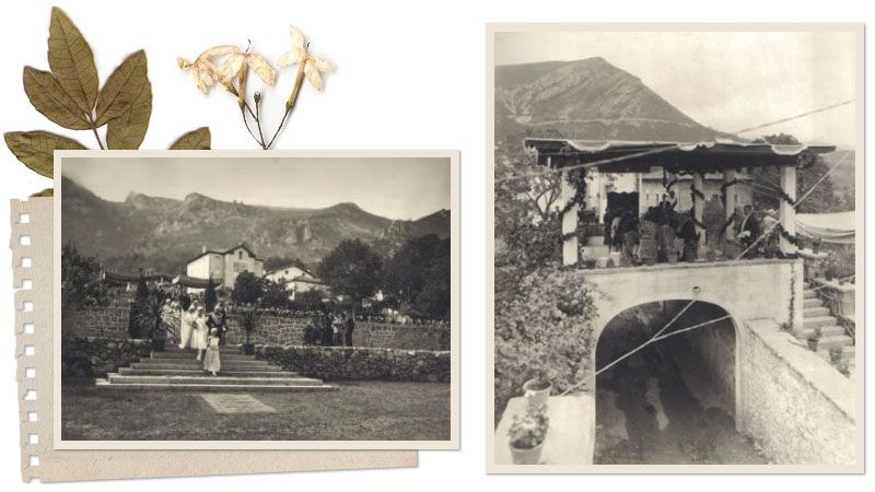 Boda de la familia Gomez Mena en los jardines de Villa Daría