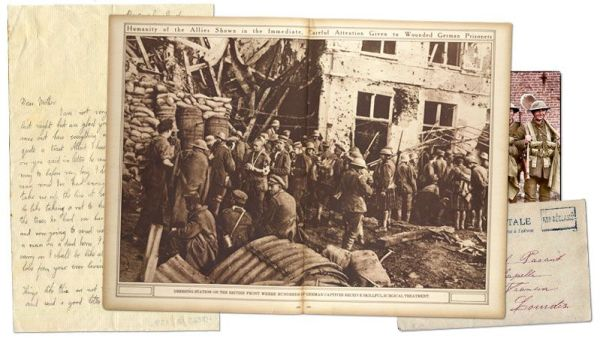 Cartas de amor y miedo durante la Primera Guerra Mundial