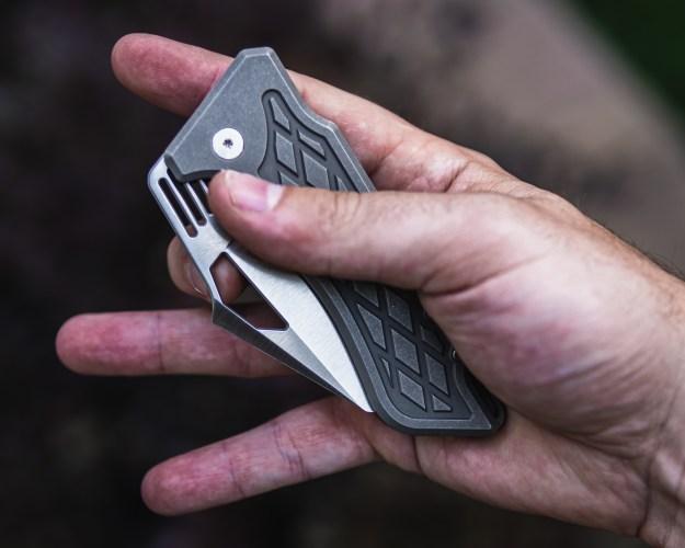 Ingress Knife by Nick Rogers