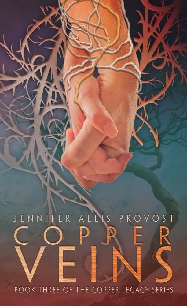 Review – Copper Veins by Jennifer Allis Provost
