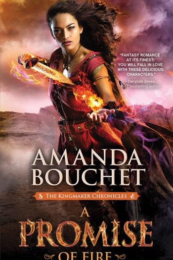 Review – A Promise of Fire by Amanda Bouchet