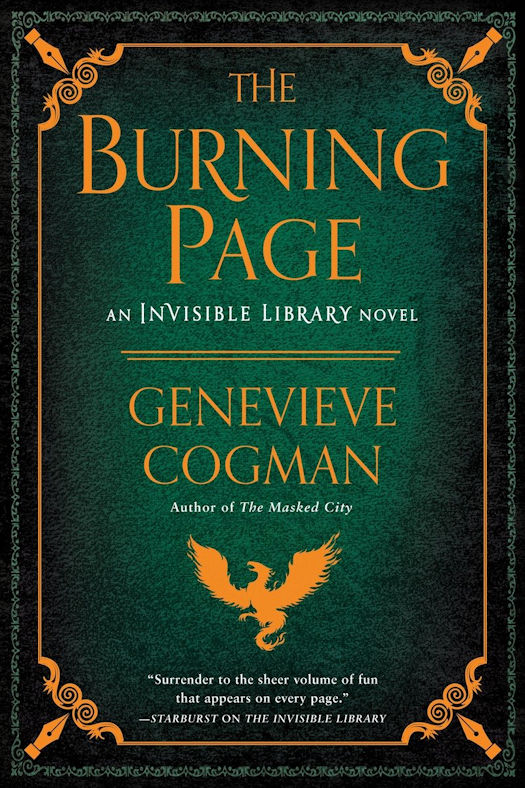 Review – The Burning Page by Genevieve Cogman
