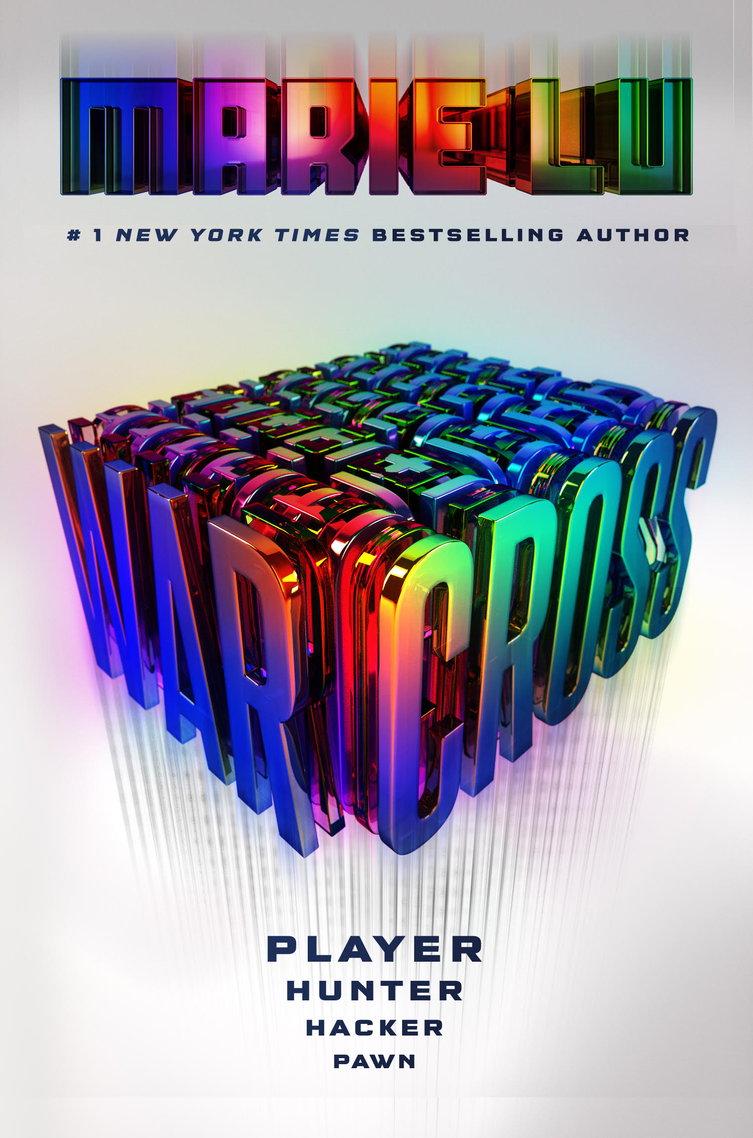 Cover Reveal – Warcross by Marie Lu