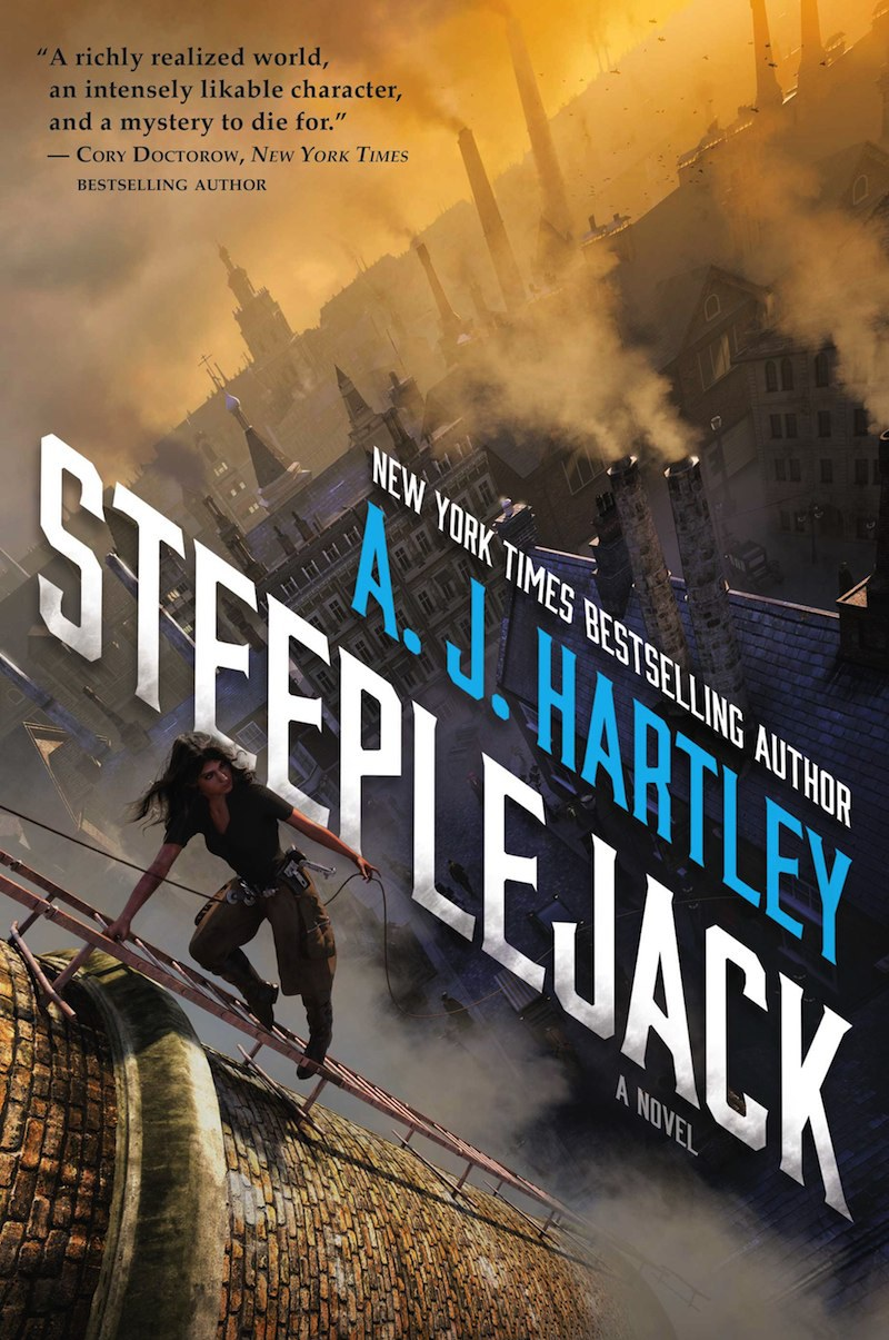 Review – Steeplejack by A.J. Hartley