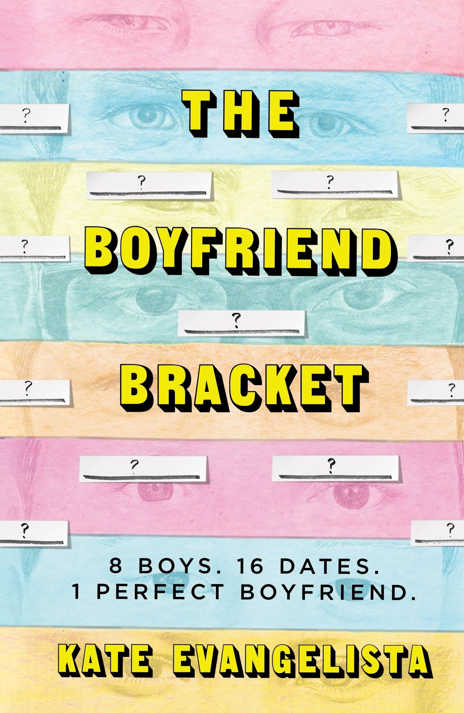 A Boyfriend but No Real Bracket | The Boyfriend Bracket by Kate Evangelista