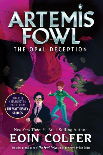Re-Read Review | The Opal Deception by Eoin Colfer