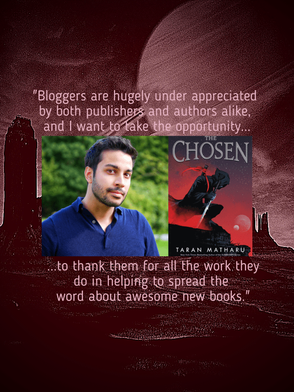 The Chosen By Taran Matharu Review and Interview
