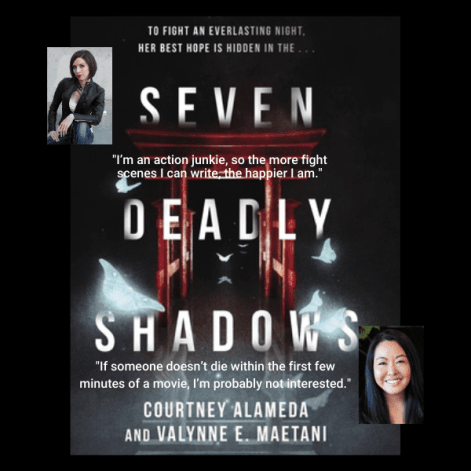 Seven Deadly Shadows Author Interview