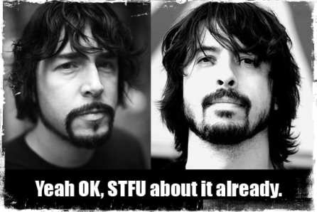 Jay Krstoff is Dave Grohl