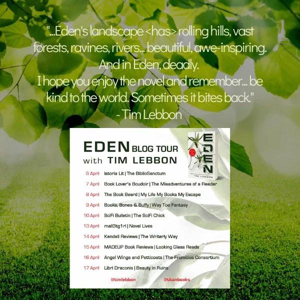 Eden by Tim Lebbon