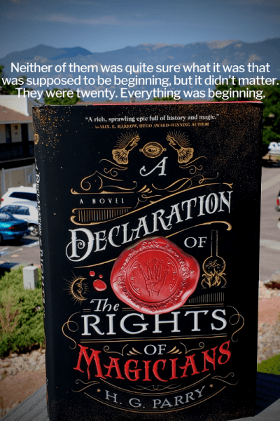 Declaration On The Rights of Magicians by H.G. Parry Review