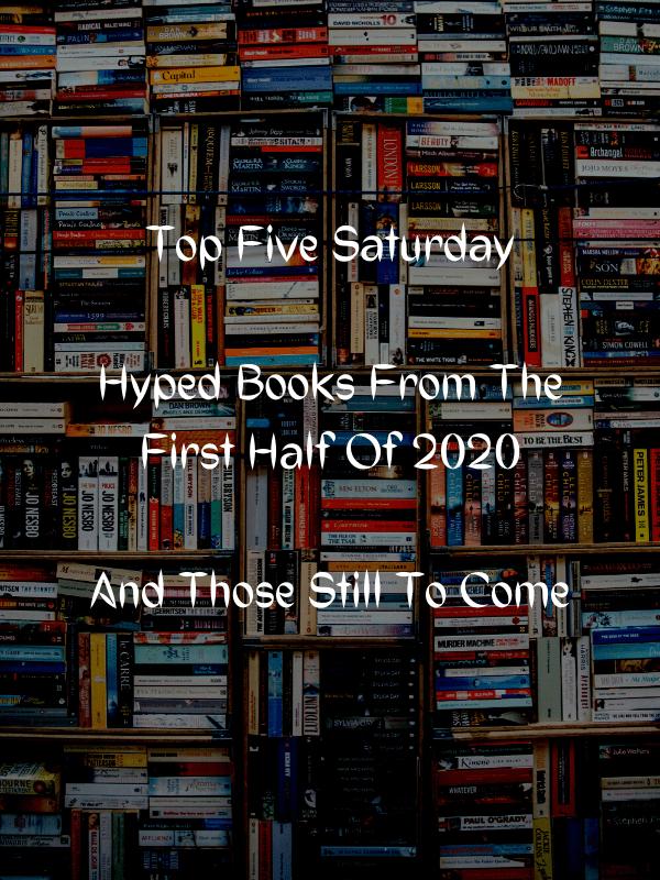 Top Five Saturday Hyped Books