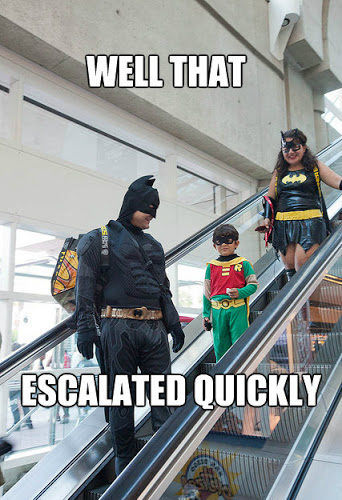 Batman Escalates