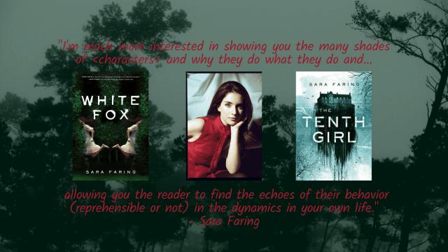 White Fox Author Sara Faring Interview