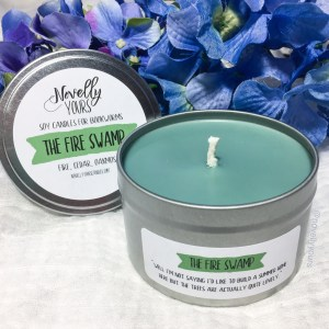 The Fire Swamp | 8oz tin | The Princess Bride-inspired soy candle