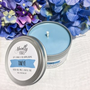 Tineye | 8oz tin | Mistborn-inspired soy candle