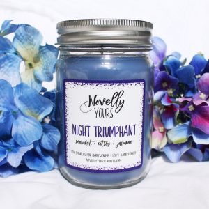 Night Triumphant | 12oz jar | Novelly Yours Candles