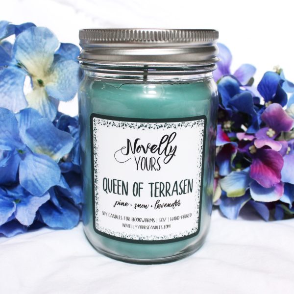 Queen of Terrasen | 12oz jar | Novelly Yours Candles