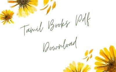 Tamil Books Pdf Download