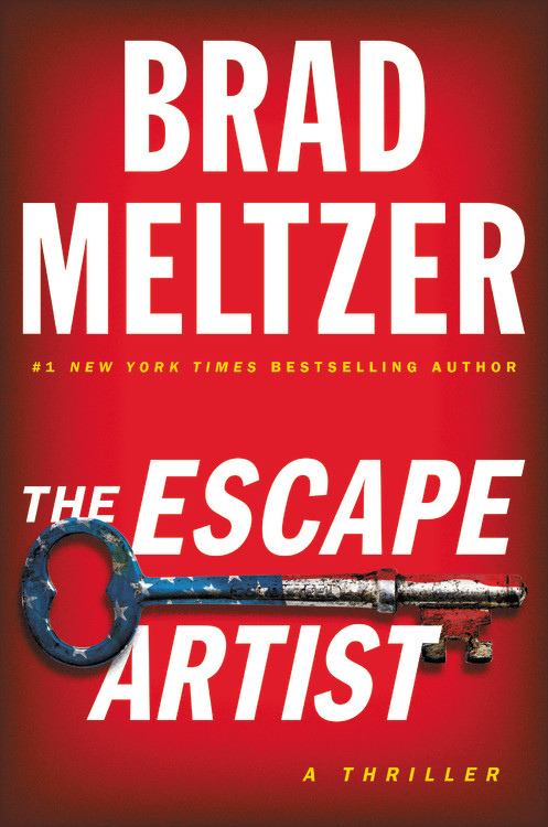 The Escape Artist by Brad Meltzer Book Cover