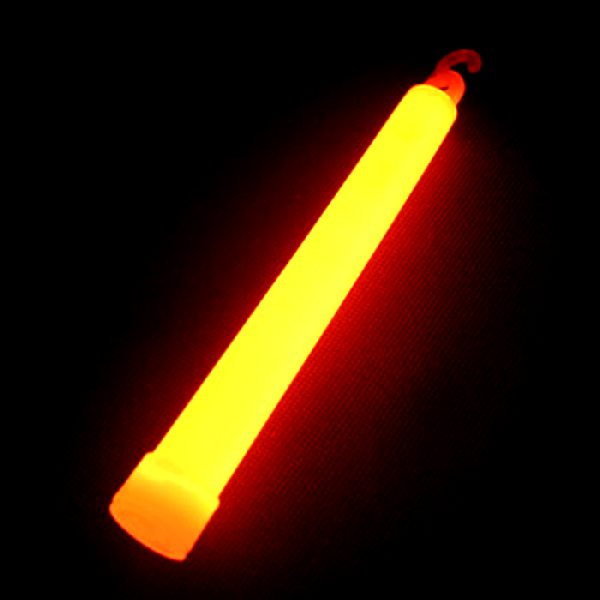 Glow Stick Orange On Cord Party Supplies From Novelties