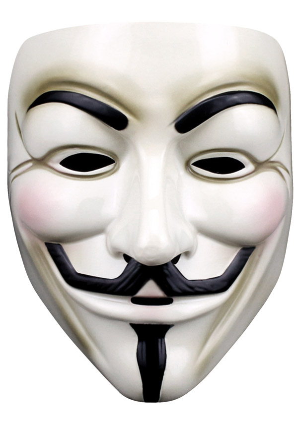 Guy Fawkes Mask Novelties Parties Direct Ltd