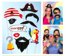 Pirate Photo Booth Kit