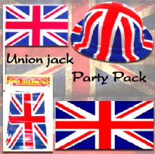 Union Jack Party Decoration Pack - Large