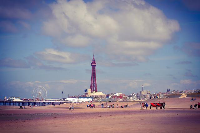 Summer Season Blackpool image by Pefkos (via Shutterstock).