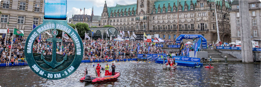 Schlossparktriathleten – Sprinttri in Hamburg