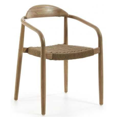 chaise daisy avec accoudoir