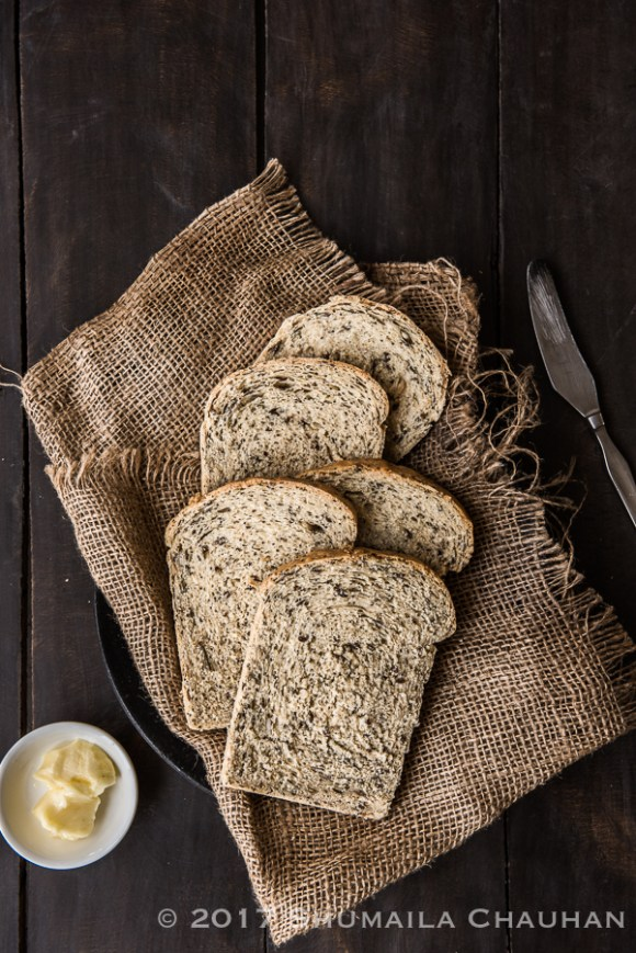 Country seed whole wheat bread