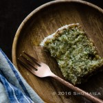 Zucchini & Coconut Bread with Coconut Rum Lime glaze