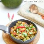 "Garam Masala Tuesdays: Okra ""Bhindi"" cooked in Onions"