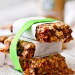 SRC: Berries & Cherry Walnut Oatmeal Bars