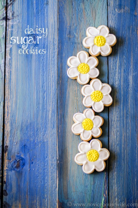 daisy sugar cookies-6