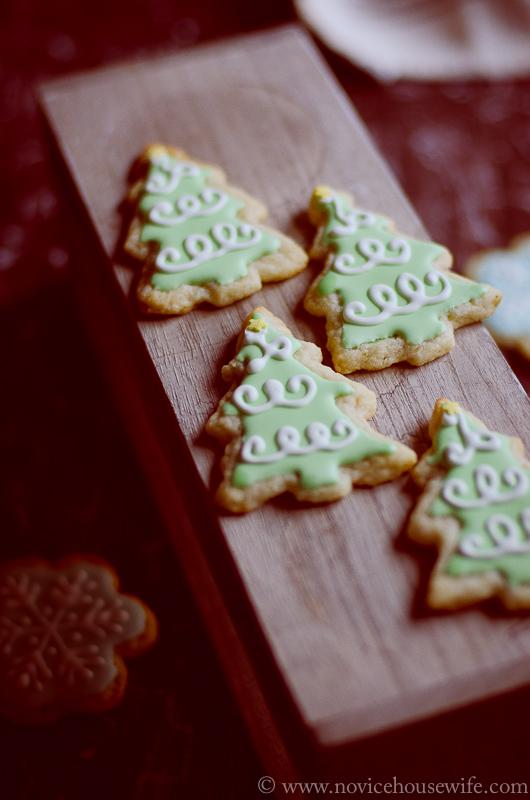 Lemon and almond cookies-1