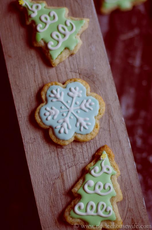 Lemon and almond cookies-4