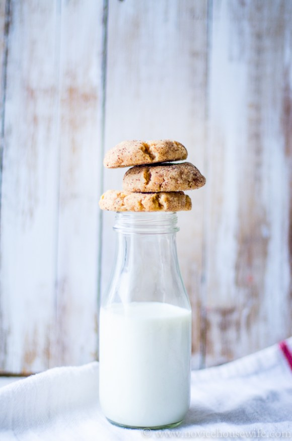 Browned Butter Snickerdoodles   The Novice Housewife