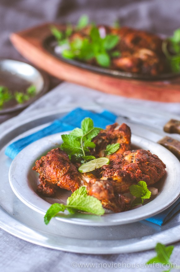 Tandoori Chicken | The Novice Housewife