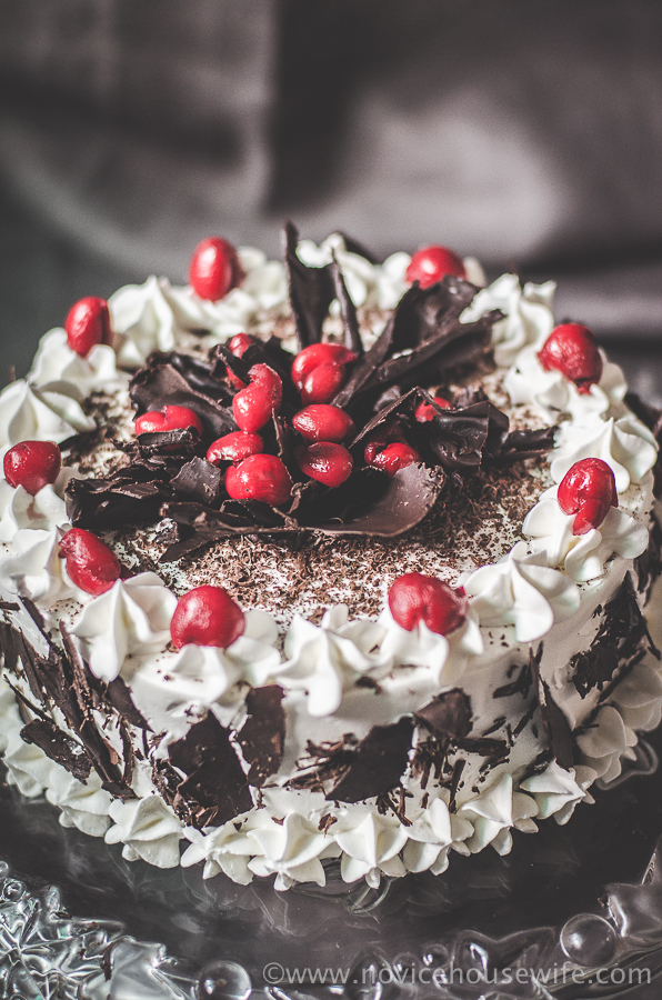 Black Forest Cake For My Dad S Birthday The Novice