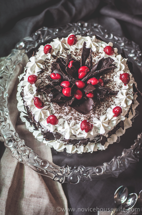 Black Forest Cake for my Dads Birthday The Novice Housewife