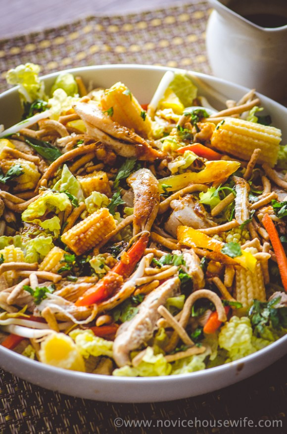 Chinese Chicken Salad | The Novice Housewife