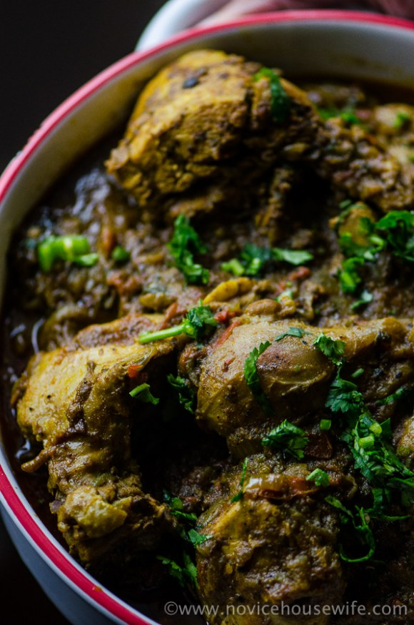 Dhaba Style Chicken Curry | The Novice Housewife
