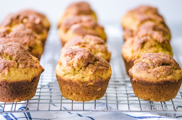 Pumpkin Maple Butter Swirled Donut Muffins