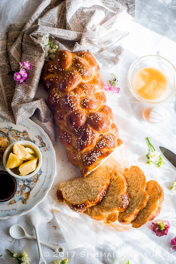 Homemade Challah bread