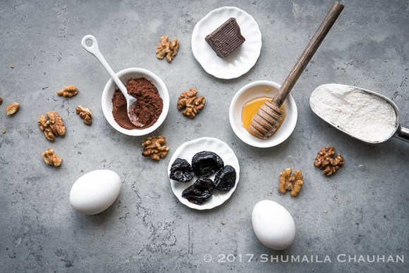Healthy, fudgy Prune Brownies