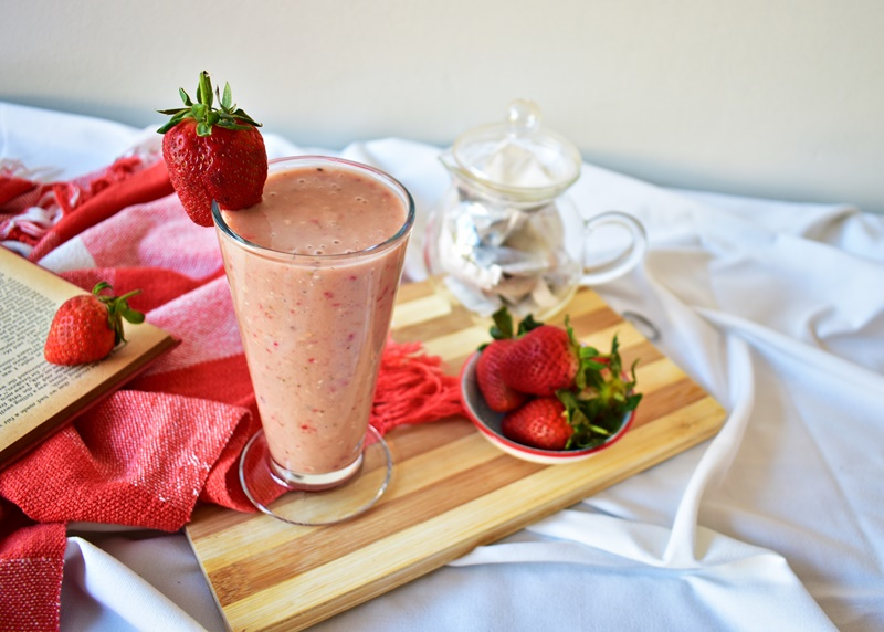 Strawberry Tea Smoothie