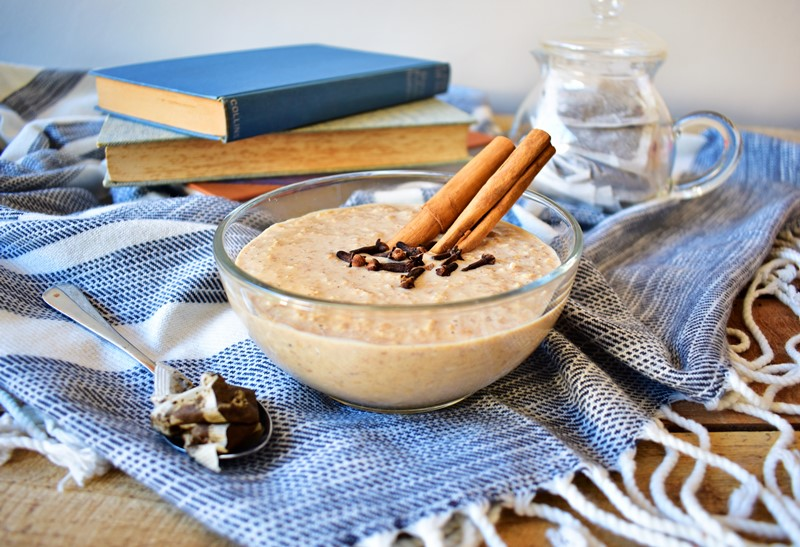 Overnight Chai Spiced Oats
