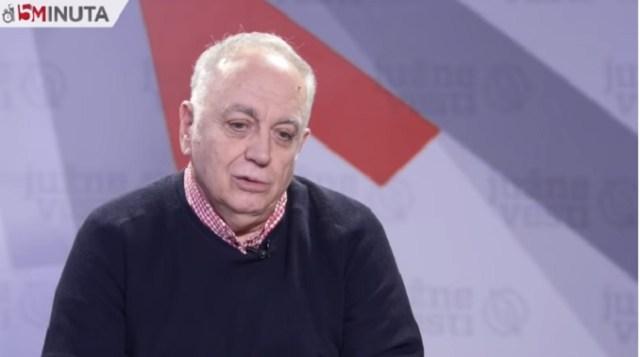 Teodorović: Danas smo negde gde smo bili januara 1993. godine